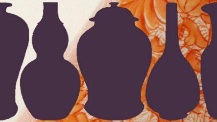 Китайские вазы хранят  формы и пропорции не меняясь 1000 лет.