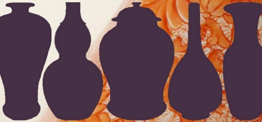 Китайские вазы хранят  формы и пропорции не меняясь 1000 лет
