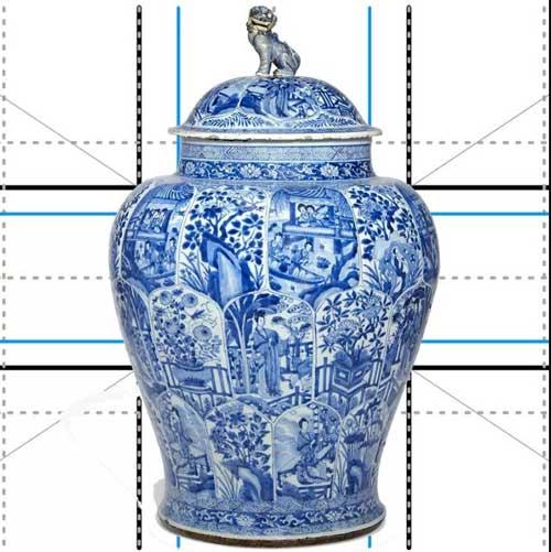 пропорции китайской вазы
