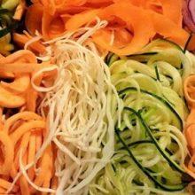 Лапша из овощей— радуга на тарелке за 30 минут
