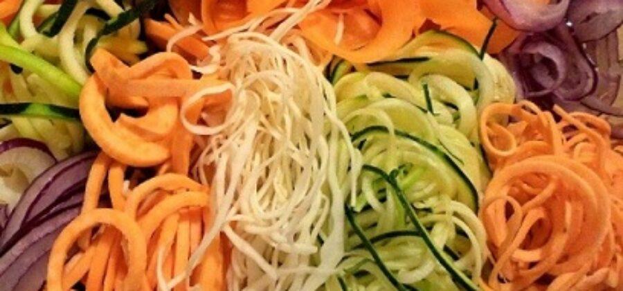 Лапша из овощей— здоровый подход к питанию  и похудению