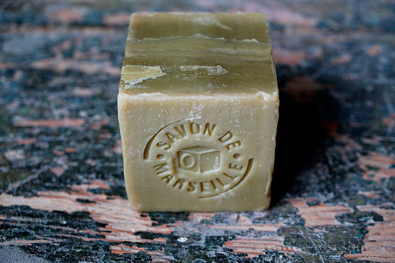 зеленое мыло из марселя