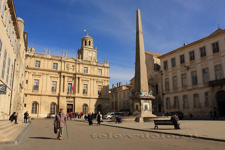 римский обелиск
